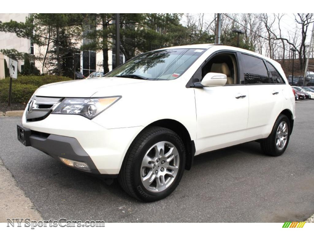 2009 acura mdx technology in aspen white pearl photo 7 505493 cars for. Black Bedroom Furniture Sets. Home Design Ideas