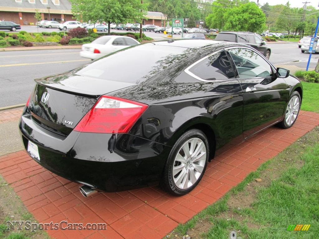 2008 honda accord ex l v6 coupe in nighthawk black pearl photo 5 012229. Black Bedroom Furniture Sets. Home Design Ideas