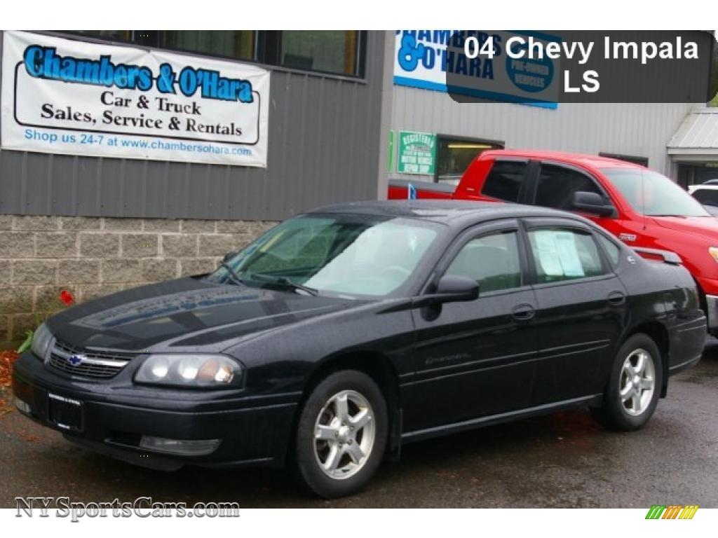 2004 chevrolet impala ls in black 464832 nysportscars 2004 impala ls black neutral beige photo 1 publicscrutiny Choice Image