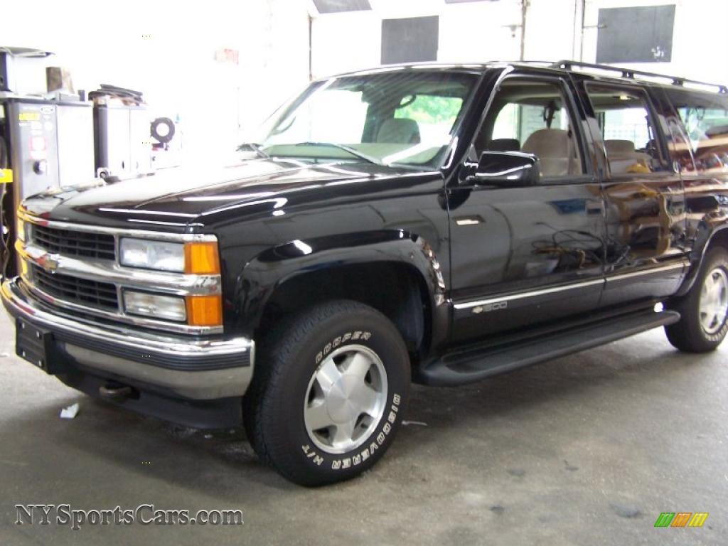 1997 Chevrolet Suburban K1500 Lt 4x4 In Onyx Black