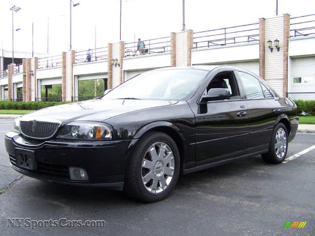 2004 Lincoln Ls V8 In Black Clearcoat 626334 Nysportscars Com