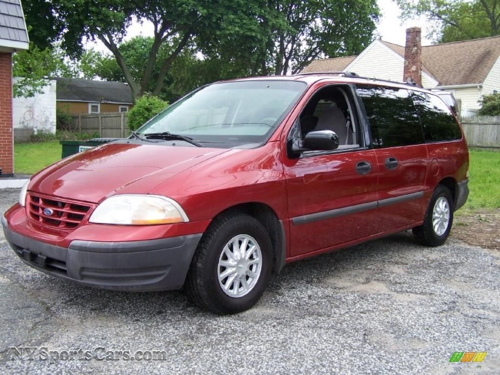1999 ford windstar lx in toreador red metallic a88645 nysportscars com cars for sale in new york nysportscars com