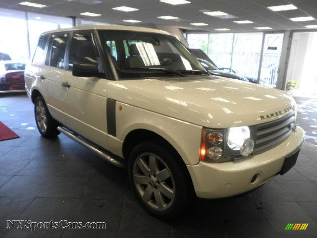 2005 land rover range rover hse in chawton white 190813 cars for sale in. Black Bedroom Furniture Sets. Home Design Ideas