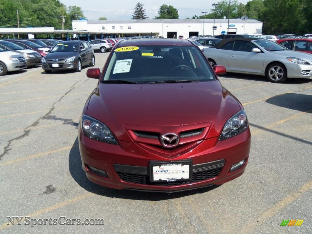 2008 mazda mazda3 s grand touring hatchback in copper red mica photo 3 102286 nysportscars. Black Bedroom Furniture Sets. Home Design Ideas