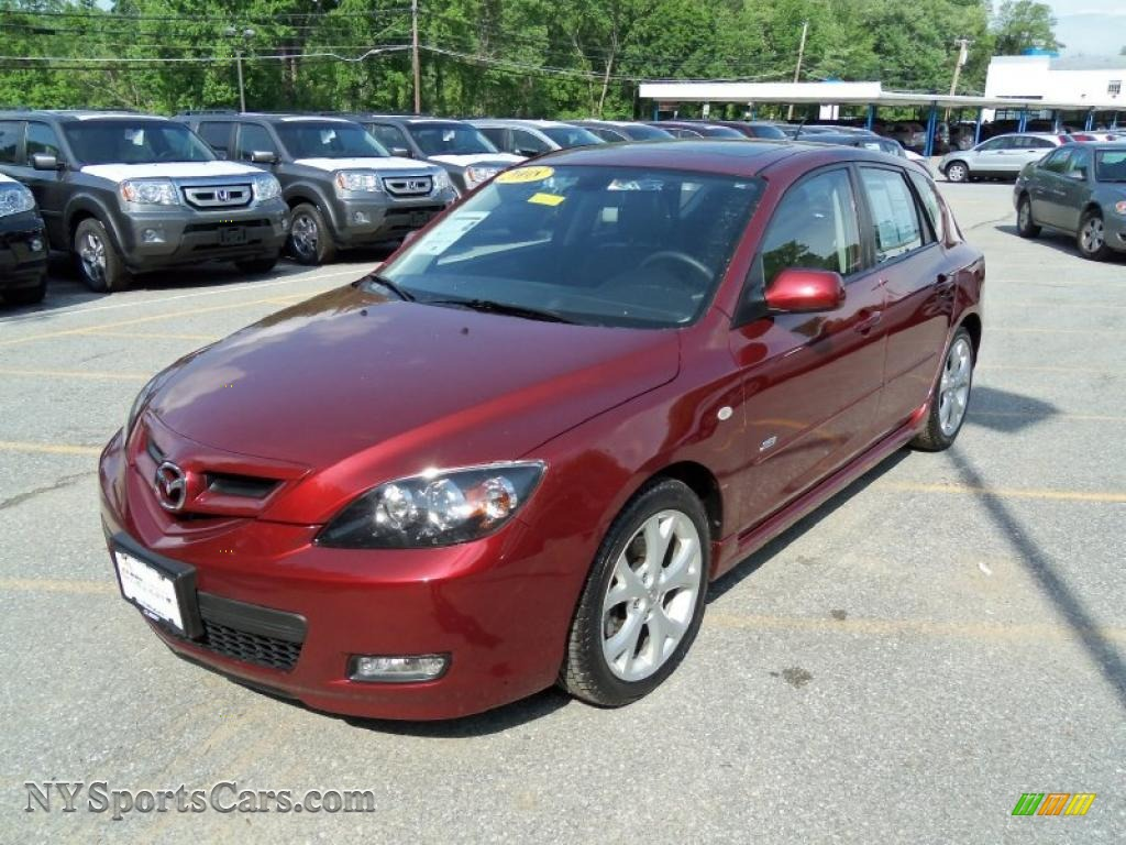 2008 mazda mazda3 s grand touring hatchback in copper red mica photo 19 102286 nysportscars. Black Bedroom Furniture Sets. Home Design Ideas