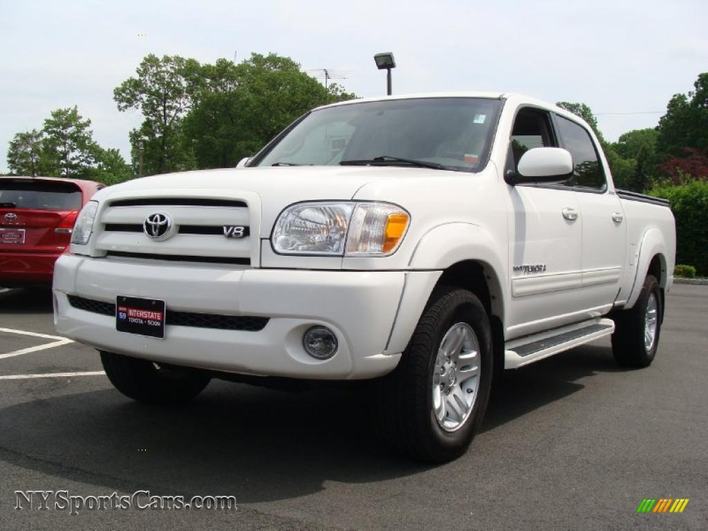 2006 toyota tundra limited double cab 4x4 in natural white 537107 cars. Black Bedroom Furniture Sets. Home Design Ideas