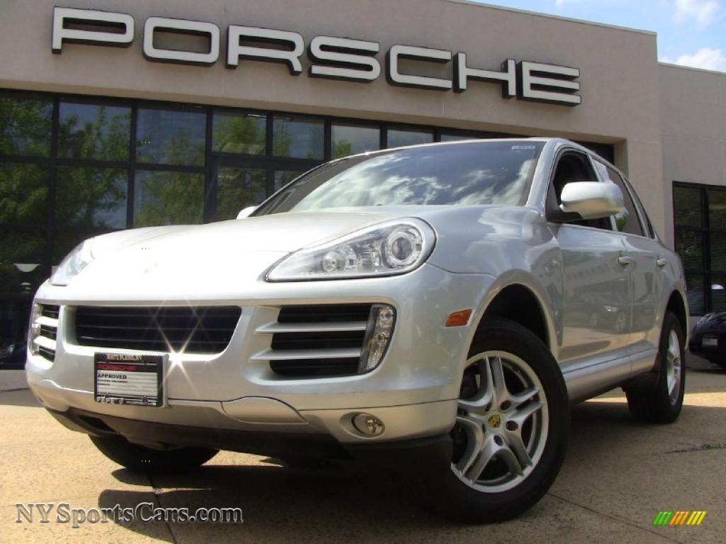 2008 Porsche Cayenne Tiptronic in Crystal Silver Metallic - A14192 ...