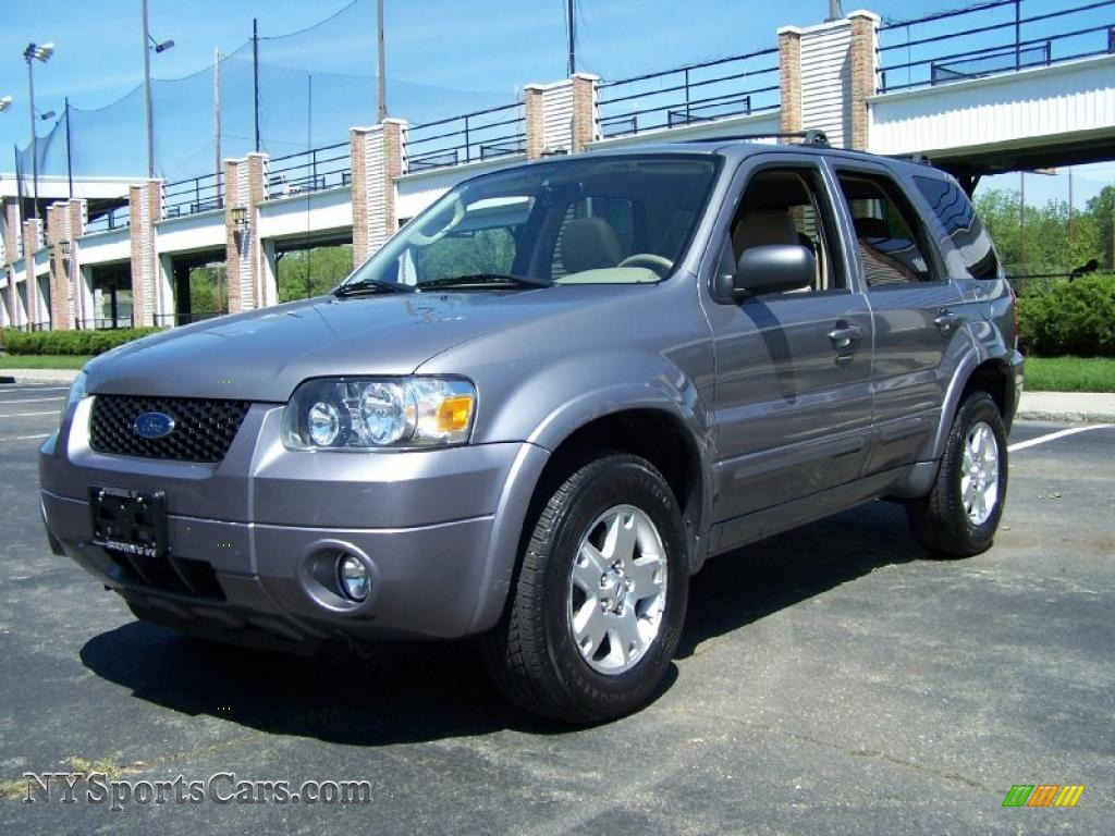 2007 ford escape limited 4wd in tungsten grey metallic. Black Bedroom Furniture Sets. Home Design Ideas