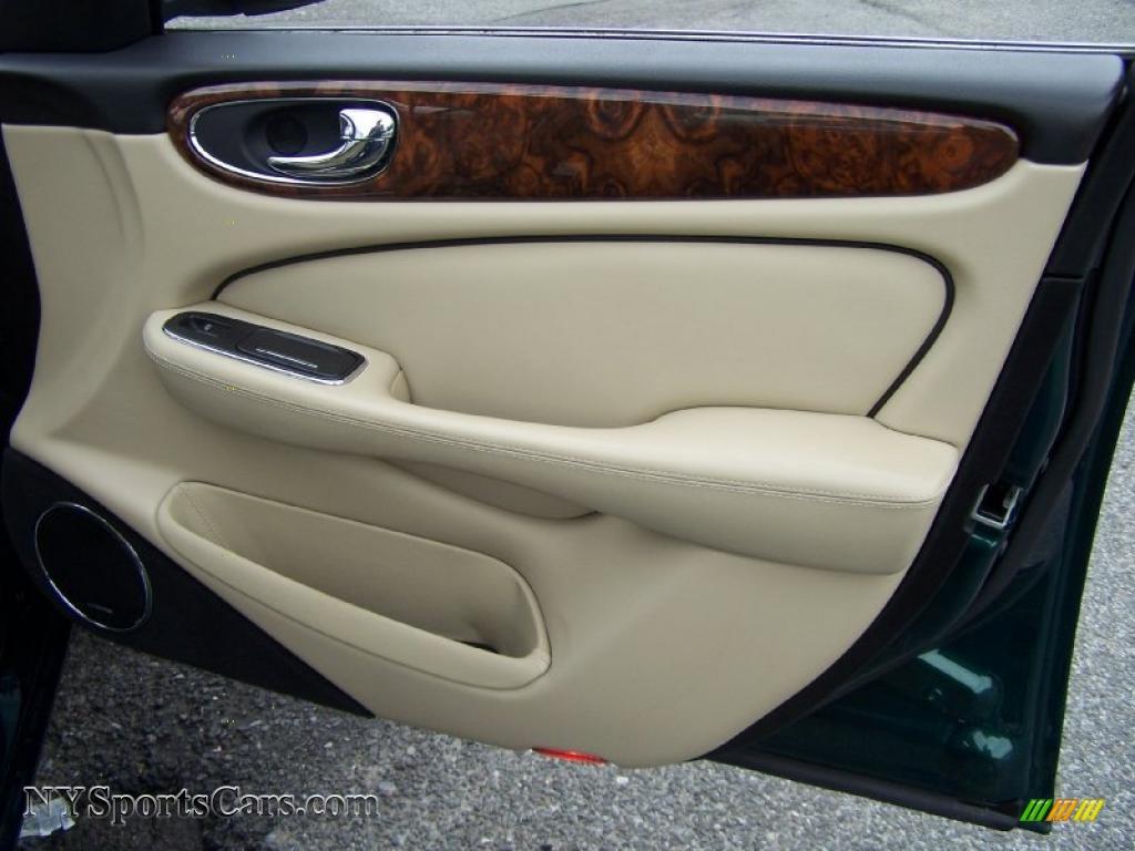 2008 Jaguar Xj Xjr In Emerald Fire Metallic Photo 12