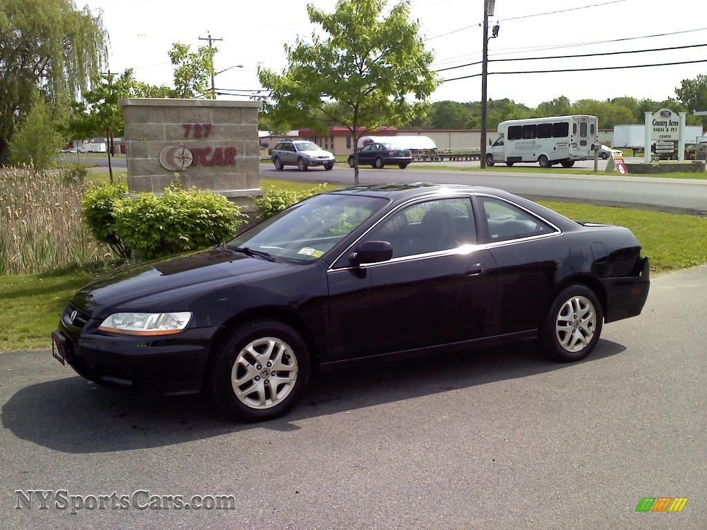 2002 honda accord ex v6 coupe in nighthawk black pearl 012542 cars for. Black Bedroom Furniture Sets. Home Design Ideas