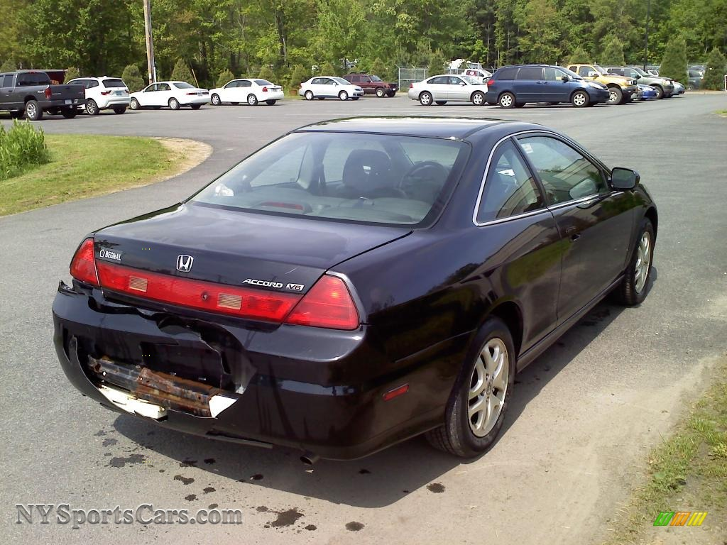 2002 Honda Accord Ex V6 Coupe In Nighthawk Black Pearl