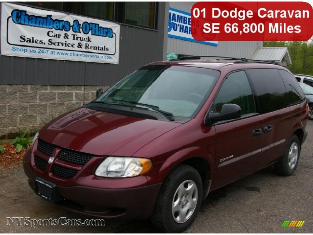 2001 dodge caravan se in dark garnet red pearlcoat. Black Bedroom Furniture Sets. Home Design Ideas