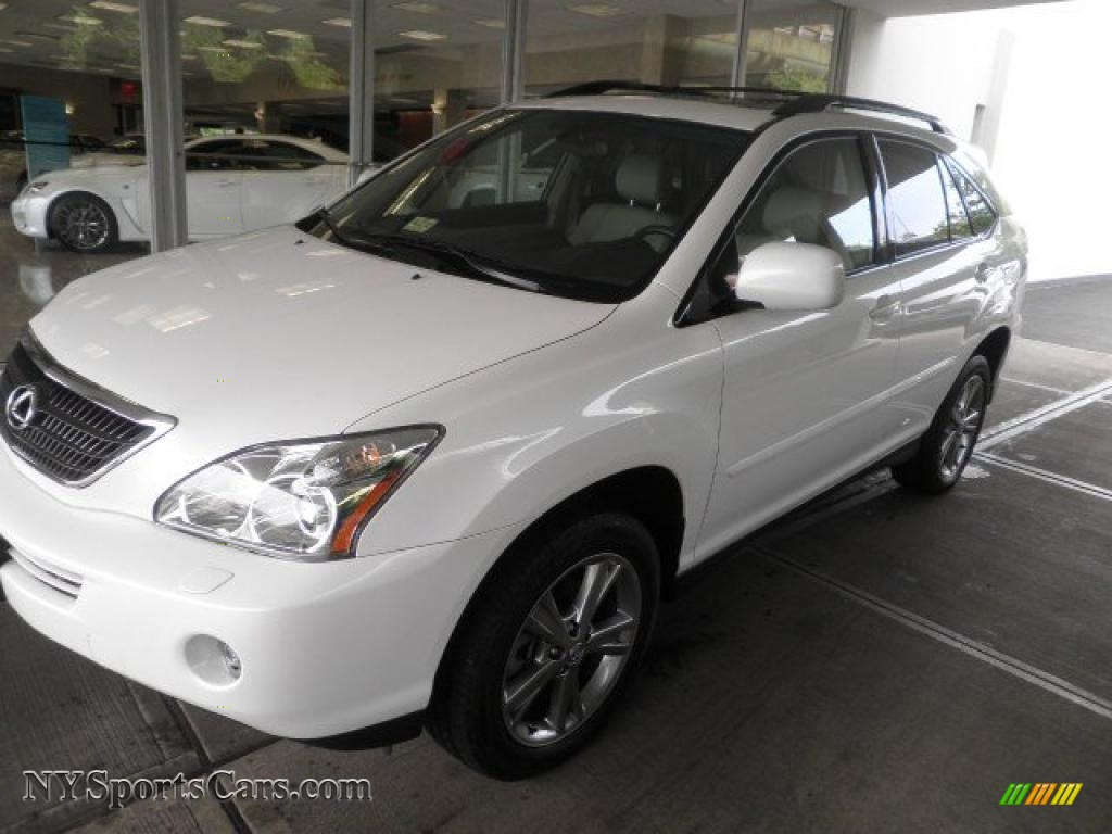 2006 lexus rx 400h awd hybrid in crystal white pearl 012117 cars for sale. Black Bedroom Furniture Sets. Home Design Ideas