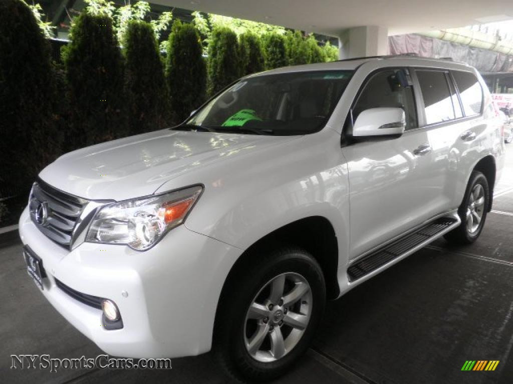 2010 lexus gx 460 in starfire white pearl 004785. Black Bedroom Furniture Sets. Home Design Ideas