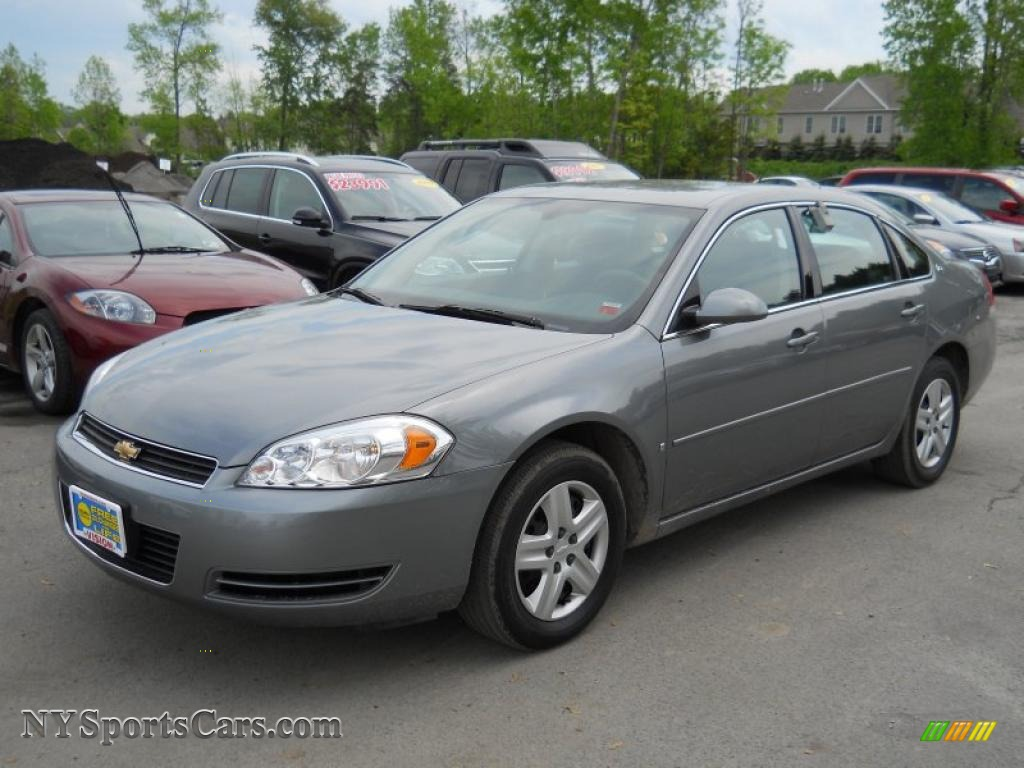 2006 chevrolet impala ls in dark silver metallic 210871. Black Bedroom Furniture Sets. Home Design Ideas