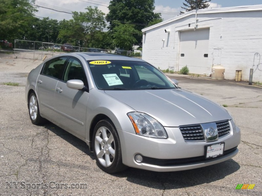 2004 Nissan Maxima 3 5 Se In Liquid Silver Metallic