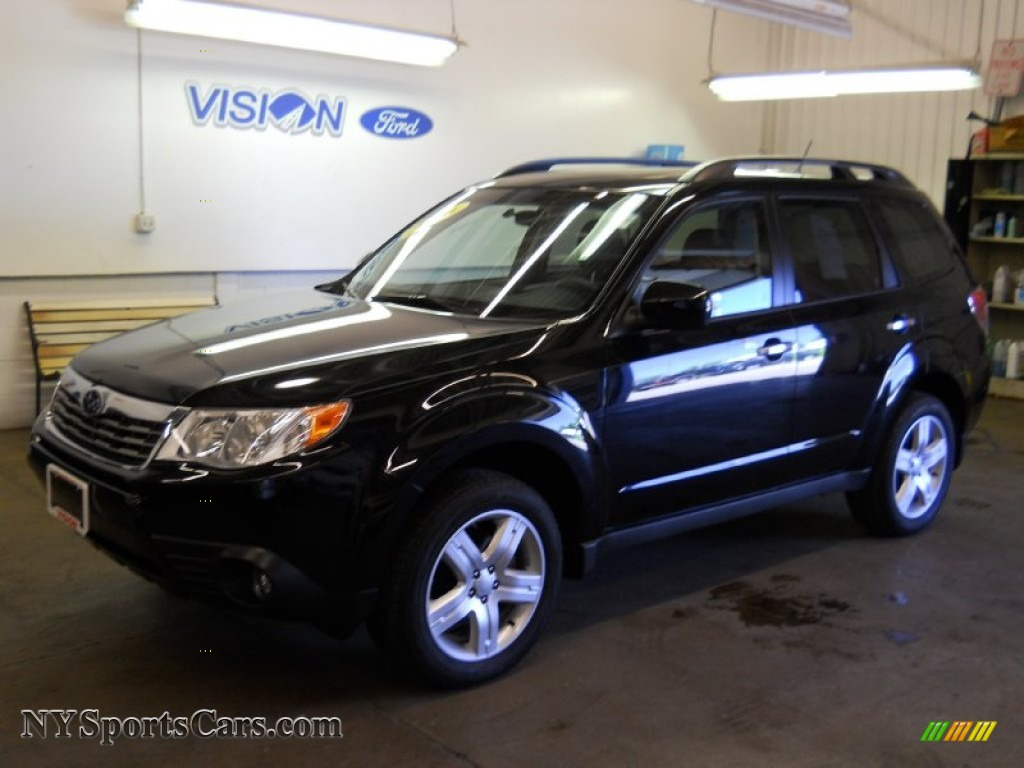 2010 Subaru Forester 2 5 X Limited In Obsidian Black Pearl