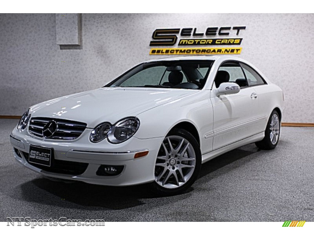 2008 mercedes benz clk 350 coupe in arctic white 244354 for Mercedes benz clk350 for sale