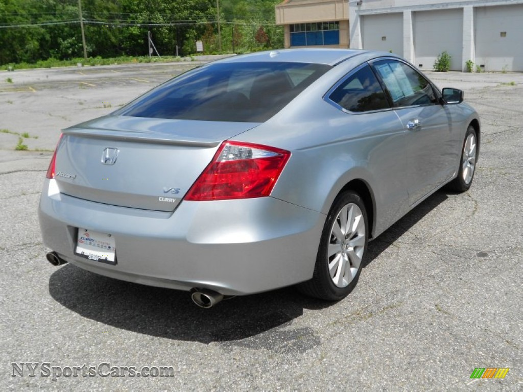 2008 Honda Accord Ex L V6 Coupe In Alabaster Silver