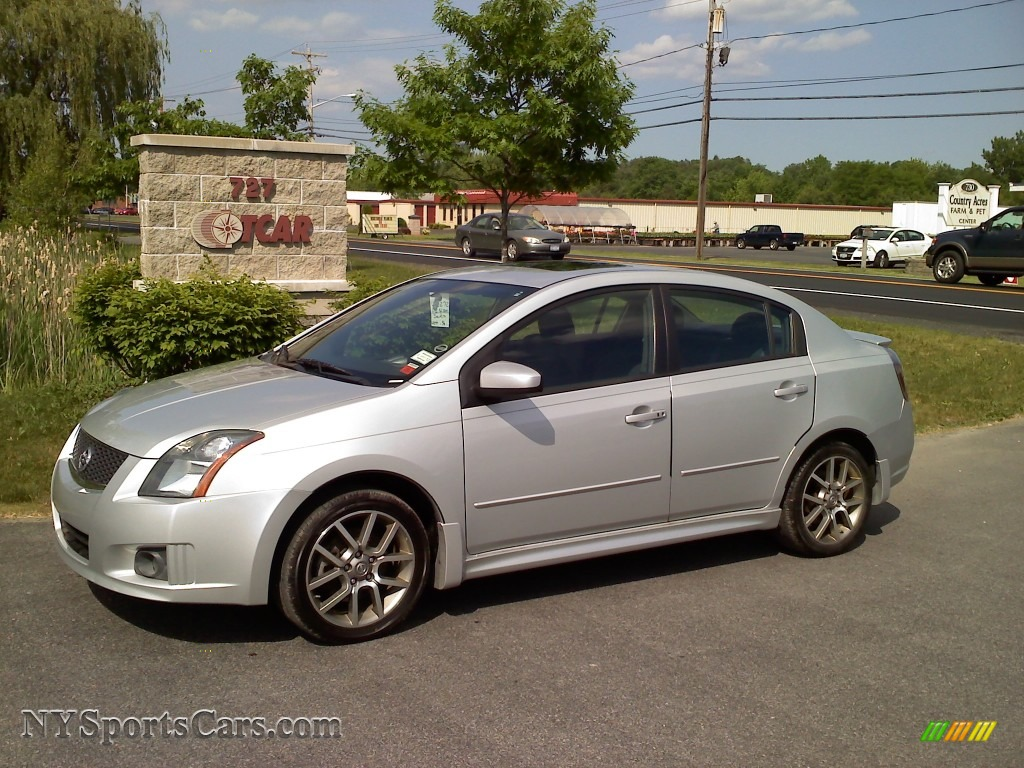 2008 nissan sentra se r in brilliant silver 612577. Black Bedroom Furniture Sets. Home Design Ideas