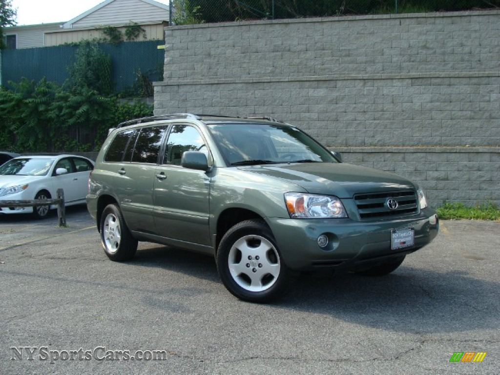 2007 Toyota Highlander Limited 4wd In Oasis Green Pearl