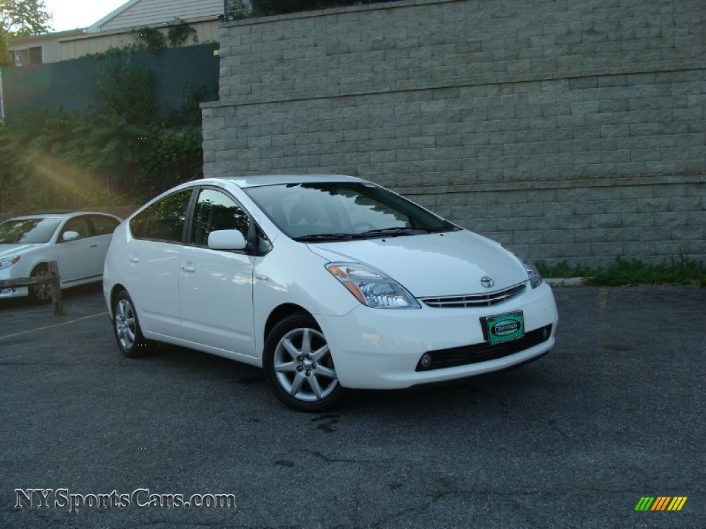2007 toyota prius hybrid touring in super white photo 18 088867 cars for. Black Bedroom Furniture Sets. Home Design Ideas