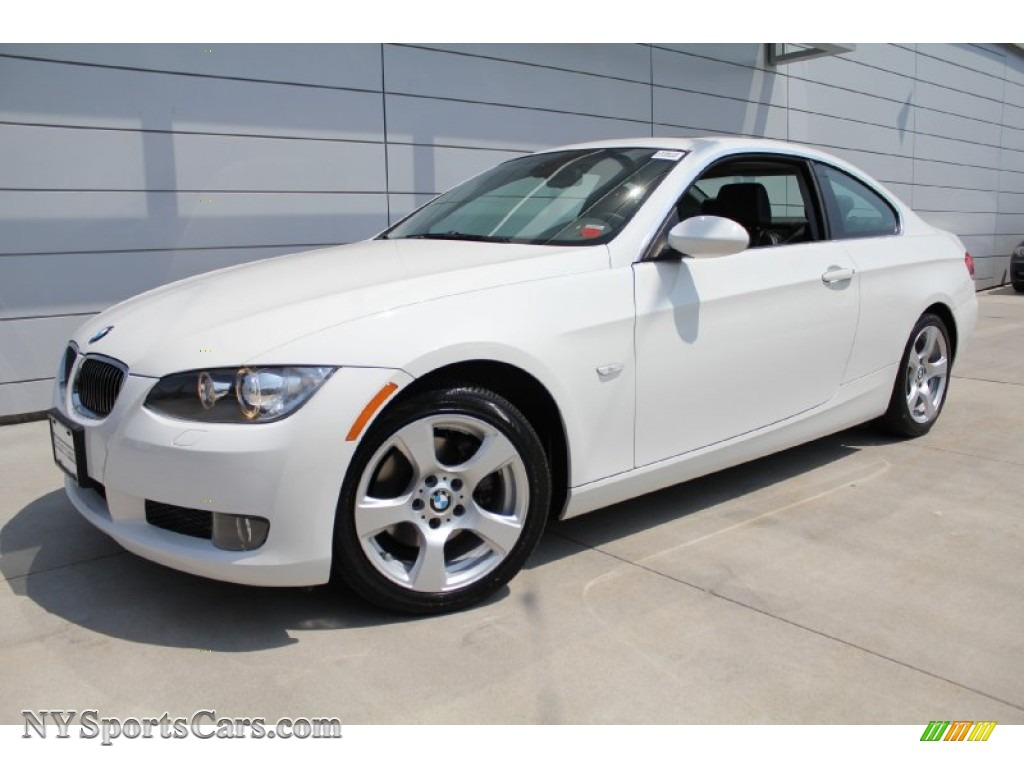2008 Bmw 3 Series 328xi Coupe In Alpine White 079287