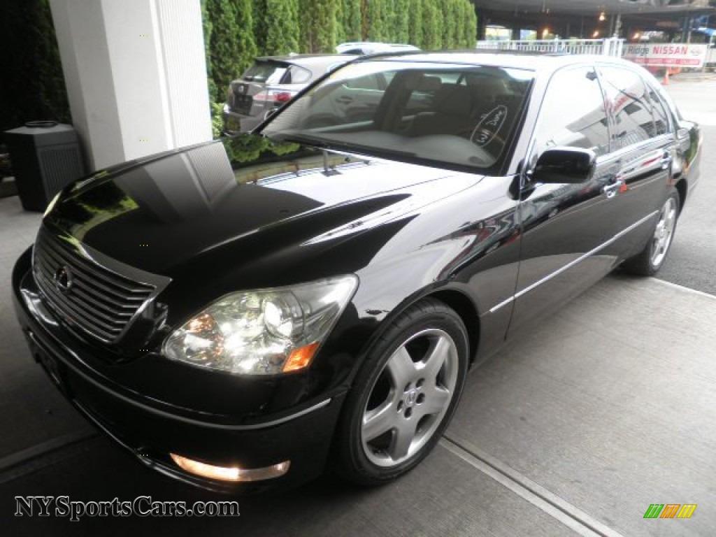2006 lexus ls 430 in black onyx 041398 cars for sale in new york. Black Bedroom Furniture Sets. Home Design Ideas