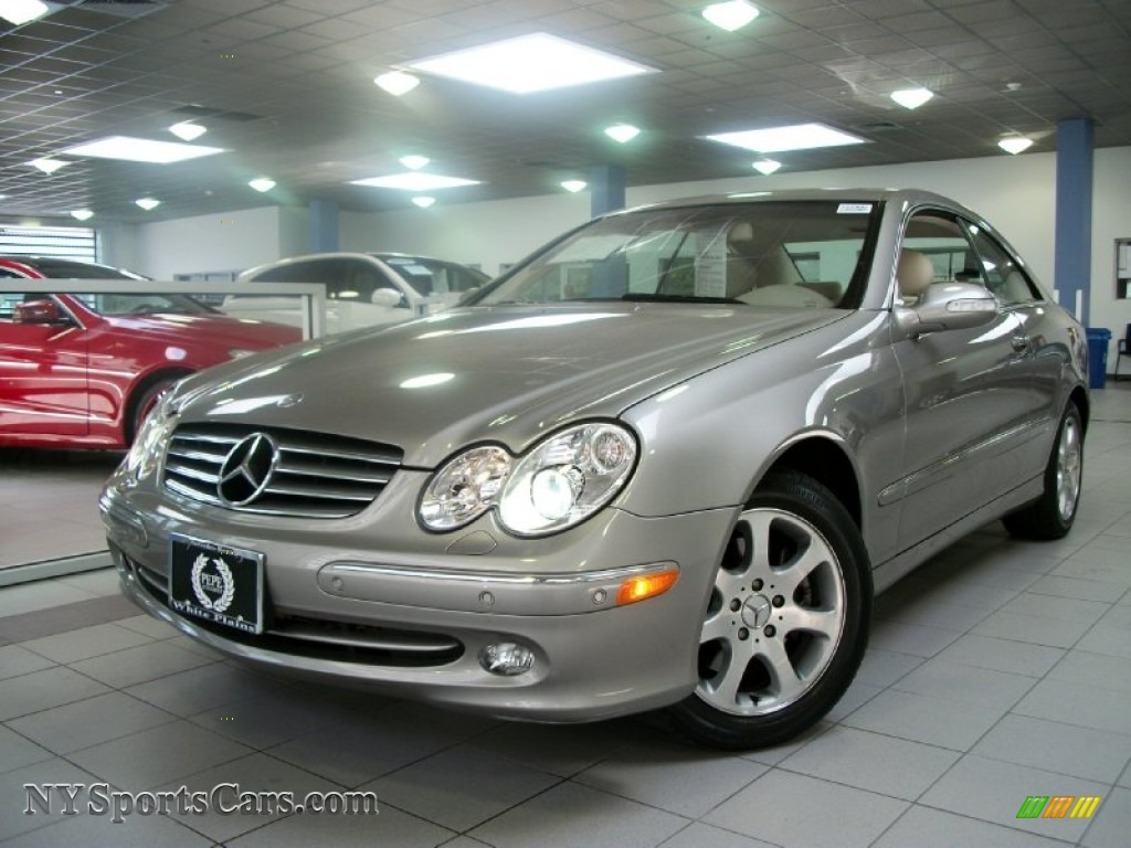 2003 mercedes benz clk 320 coupe in pewter silver metallic for 2003 mercedes benz clk 320