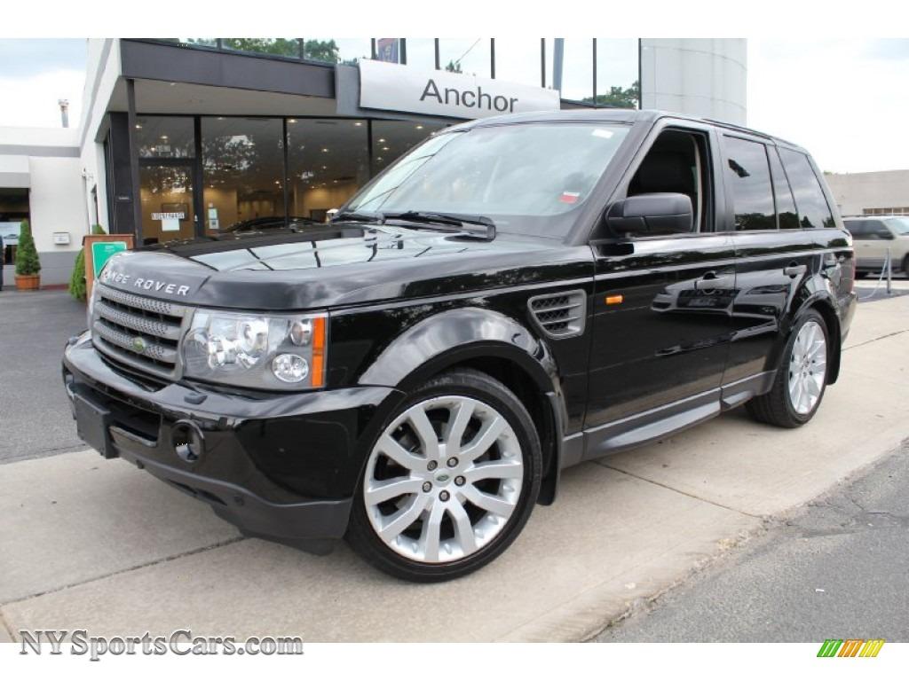 2008 land rover range rover sport hse in santorini black 147994 cars for. Black Bedroom Furniture Sets. Home Design Ideas