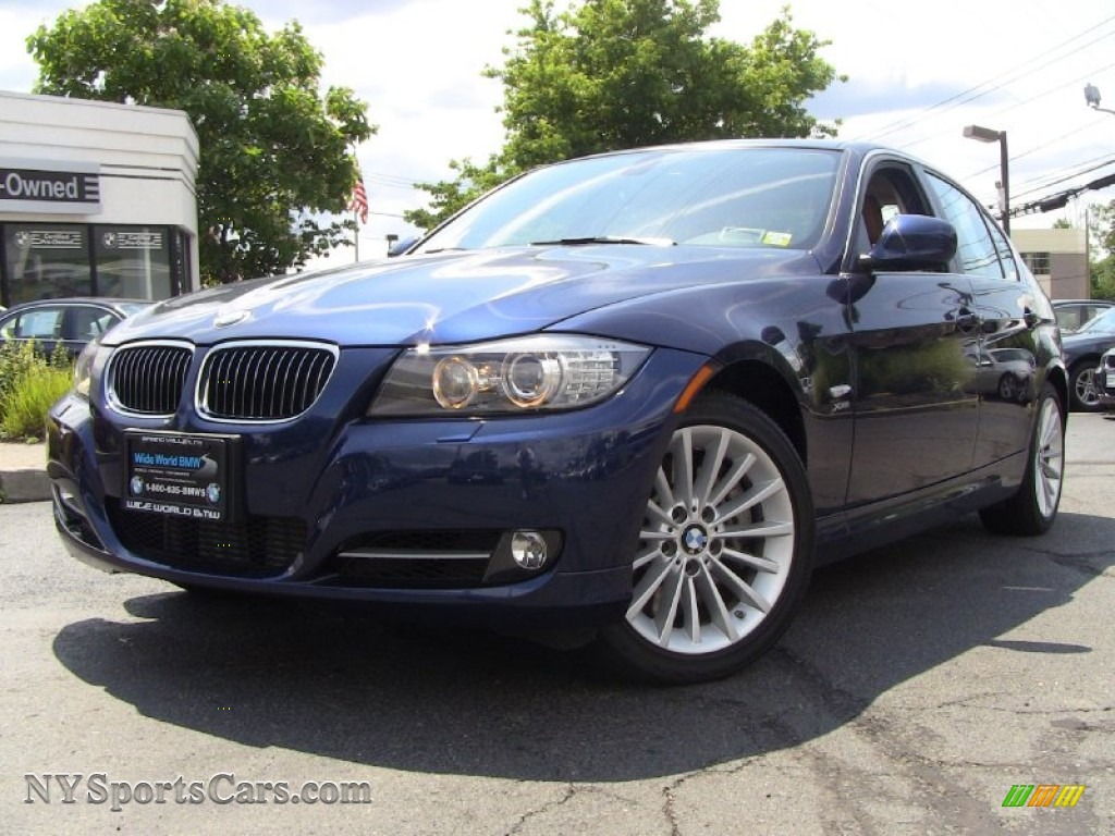 BMW Series I XDrive Sedan In Deep Sea Blue Metallic - 2011 bmw 335i xdrive sedan