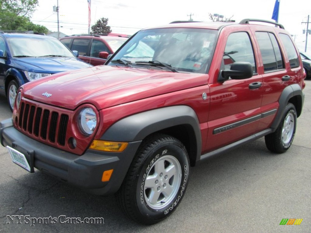 2006 Jeep Liberty Red 200 Interior And Exterior Images