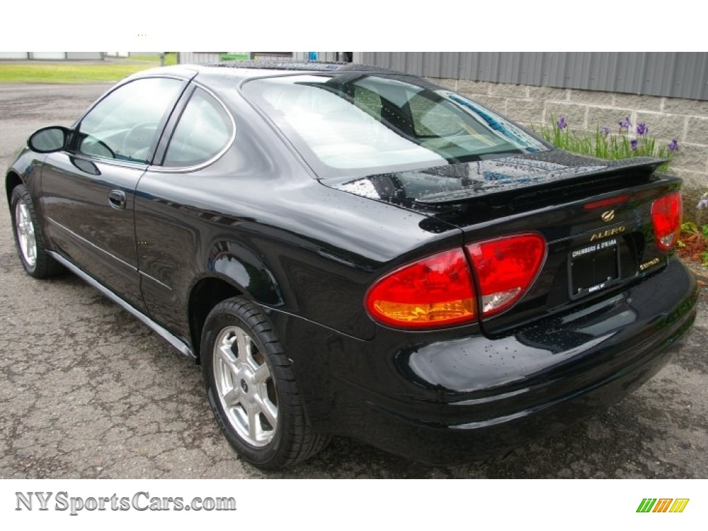 2001 oldsmobile alero gls coupe in onyx black photo 8 156365 nysportscars com cars for sale in new york nysportscars com