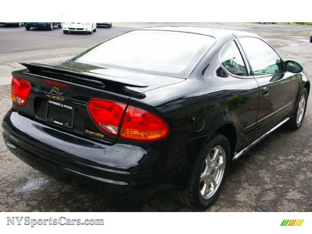 2001 oldsmobile alero gls coupe in onyx black photo 10 156365 nysportscars com cars for sale in new york nysportscars com