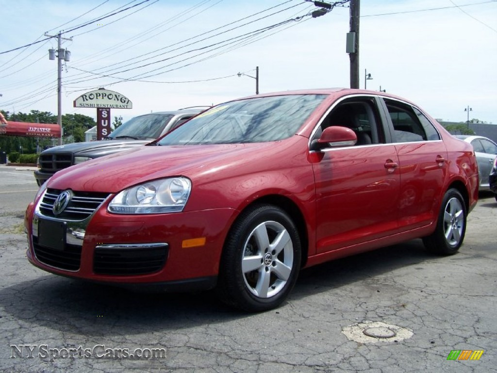 2009 volkswagen jetta se sedan in salsa red 142255 cars for sale in new york. Black Bedroom Furniture Sets. Home Design Ideas