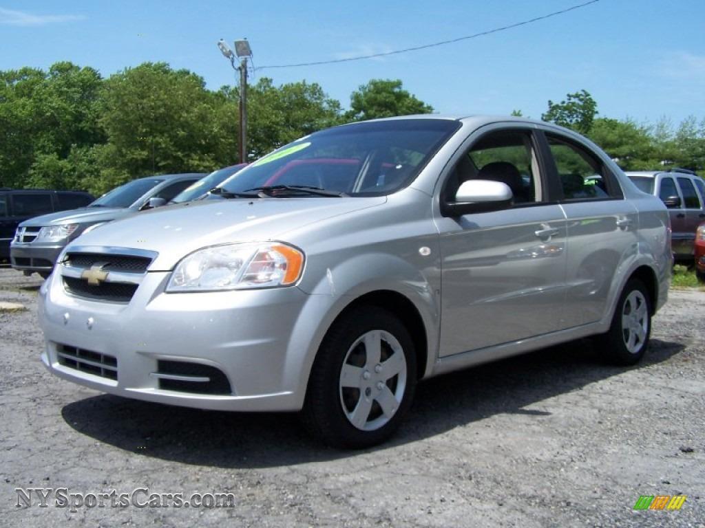2007 Chevrolet Aveo Ls Sedan In Medium Gray 107361