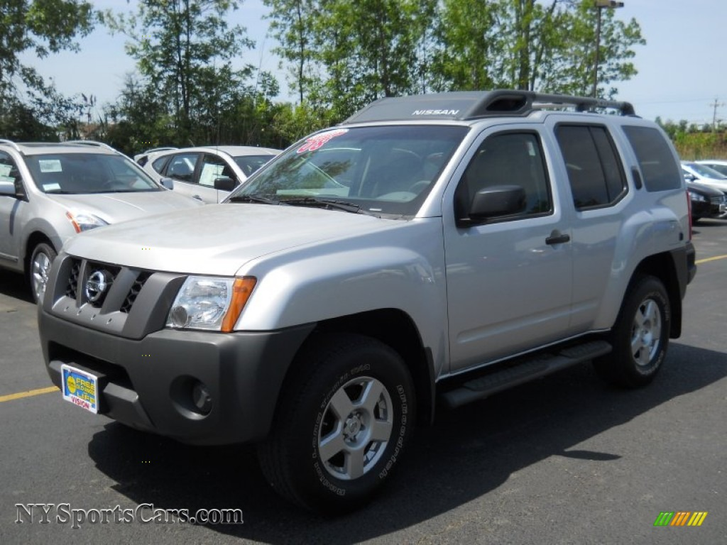 2008 nissan xterra s 4x4 in silver lightning 522541 cars for sale in new york. Black Bedroom Furniture Sets. Home Design Ideas