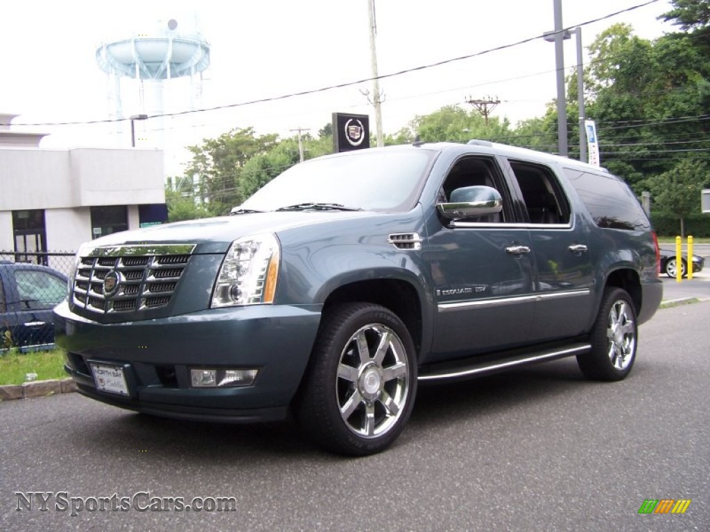 2008 cadillac escalade esv awd in stealth gray 233299. Black Bedroom Furniture Sets. Home Design Ideas