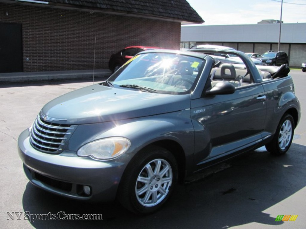 2006 chrysler pt cruiser touring convertible in magnesium green pearl 374518 nysportscars. Black Bedroom Furniture Sets. Home Design Ideas