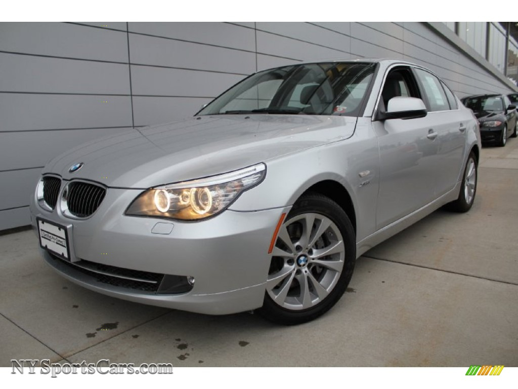 BMW Series I XDrive Sedan In Titanium Silver Metallic - 2010 bmw 535i