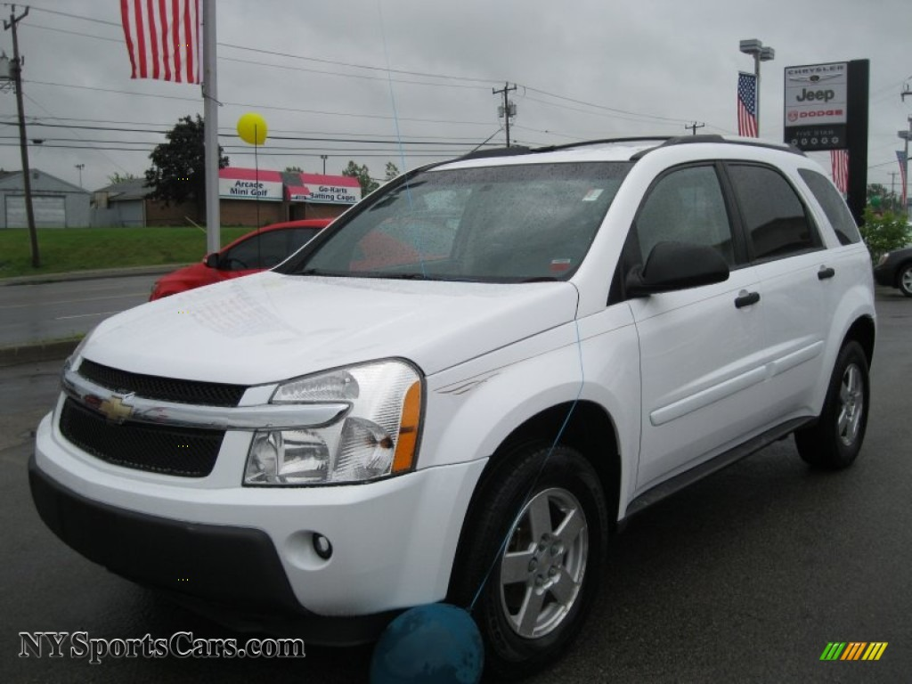 2005 chevrolet equinox ls awd in summit white - 146036
