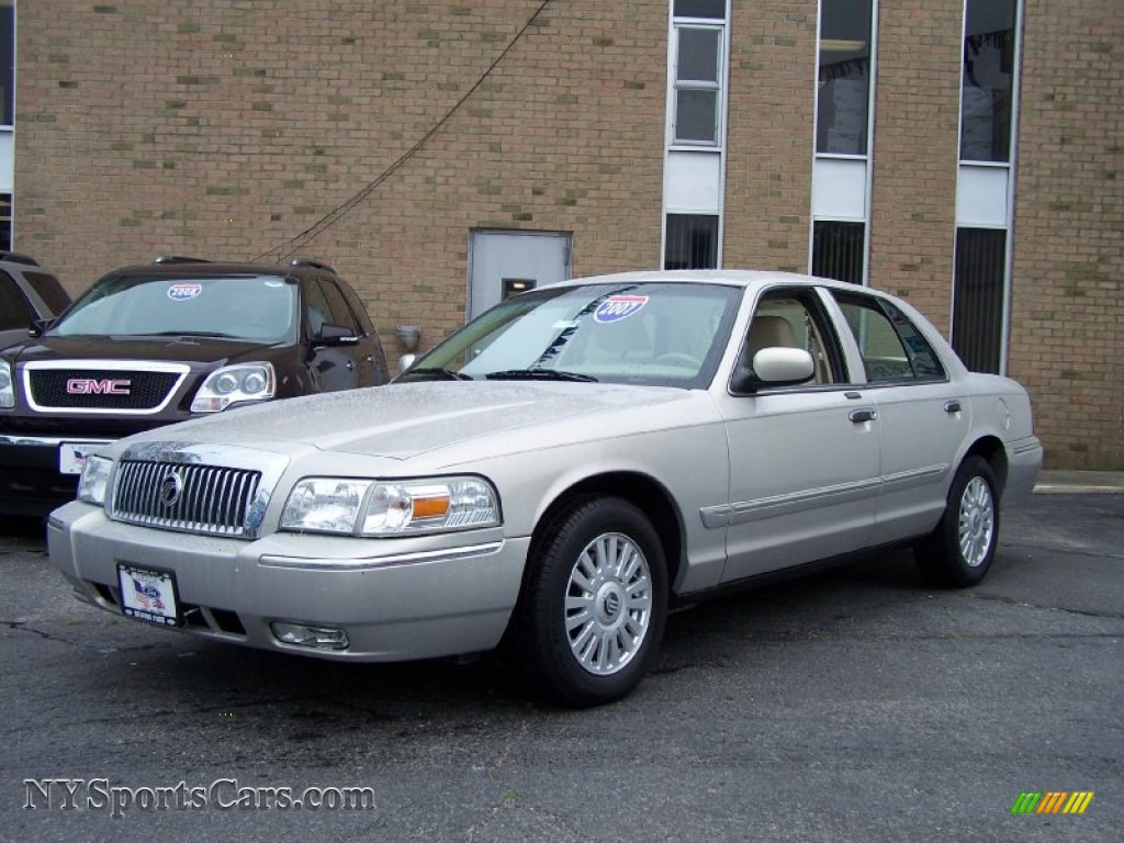 2007 mercury grand marquis ls in silver birch metallic. Black Bedroom Furniture Sets. Home Design Ideas