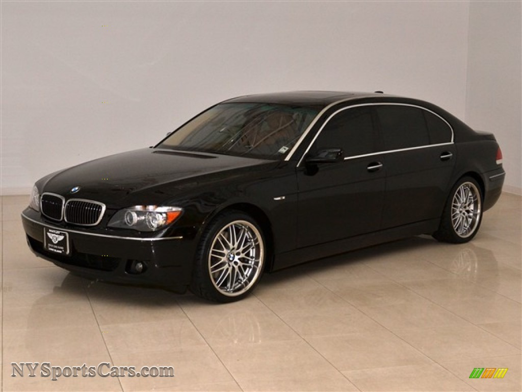 2007 bmw 7 series 750li sedan in jet black t73621 cars for sale in new york. Black Bedroom Furniture Sets. Home Design Ideas