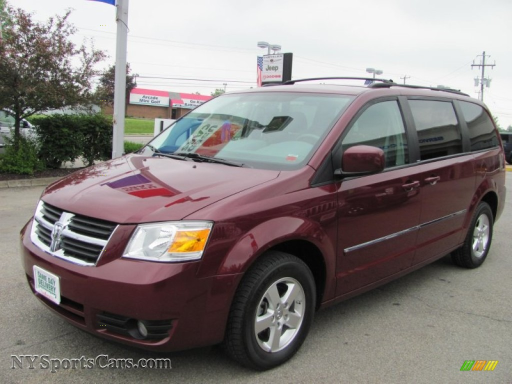 2009 dodge grand caravan sxt in deep crimson crystal pearl. Black Bedroom Furniture Sets. Home Design Ideas