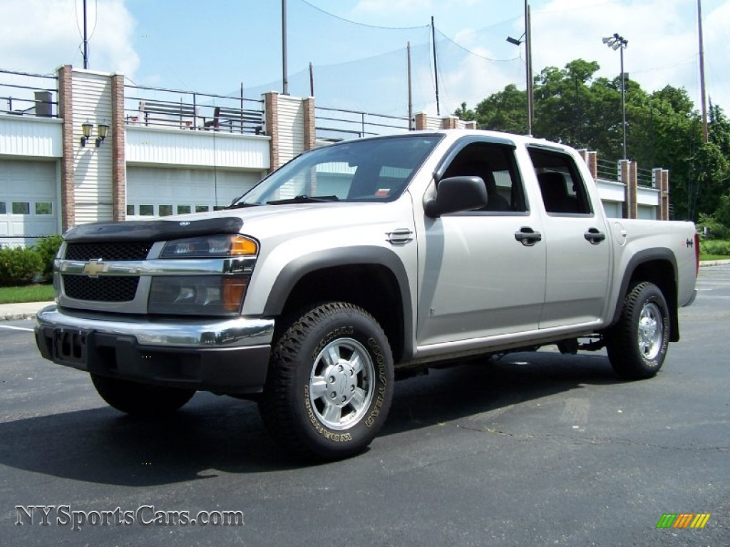 2006 chevrolet colorado lt crew cab 4x4 in silver birch metallic 171293. Black Bedroom Furniture Sets. Home Design Ideas