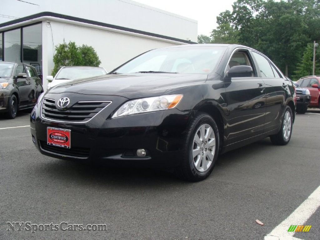 2007 toyota camry xle v6 in black 543917 cars for sale in new york. Black Bedroom Furniture Sets. Home Design Ideas