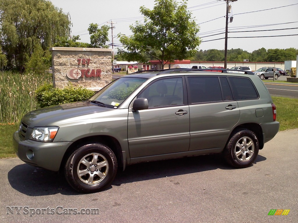 2005 toyota highlander v6 4wd in oasis green pearl 121872 cars for sale. Black Bedroom Furniture Sets. Home Design Ideas