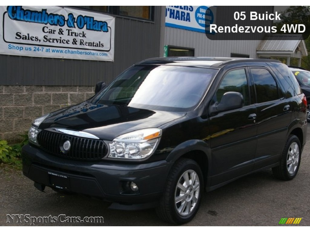 2005 buick rendezvous cx awd in black onyx 538770. Black Bedroom Furniture Sets. Home Design Ideas