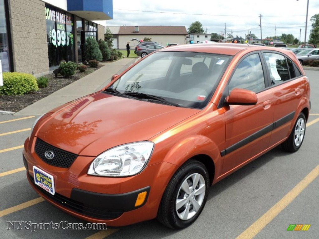 2009 Kia Rio Rio5 Lx Hatchback In Sunset Orange 544173