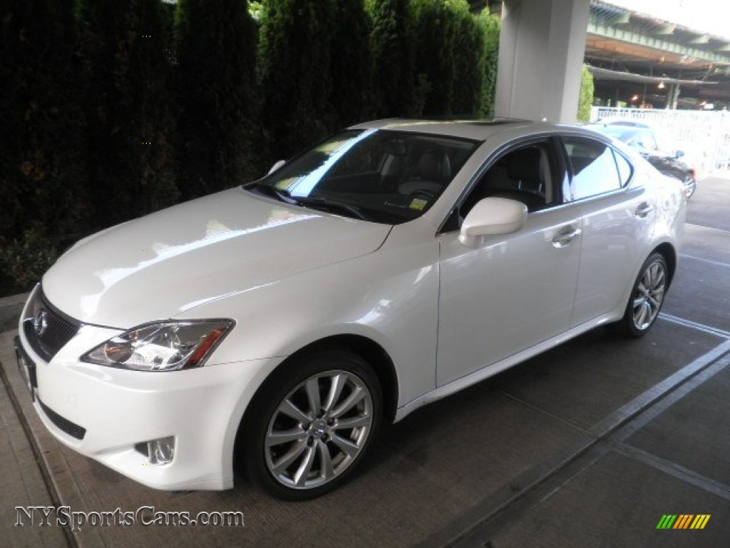 2008 Lexus Is 250 Awd In Starfire White Pearl 025017